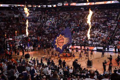 Halftime at Suns vs. Mavericks